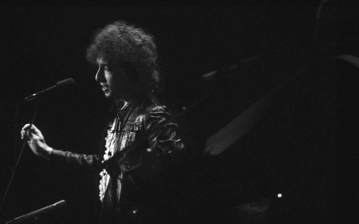 Bob Dylan-Live in Vancouver, 1976-Photo by James O'Mara